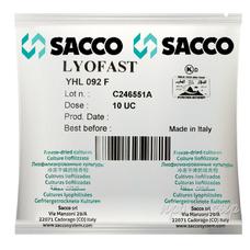 Термофильная закваска Sacco YHL 092/94 F (10U)